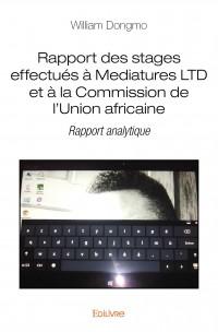 Rapport des stages effectués à Mediatures LTD et à la Commission de l'Union africaine