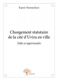 Changement statutaire de la cité d'Uvira en ville