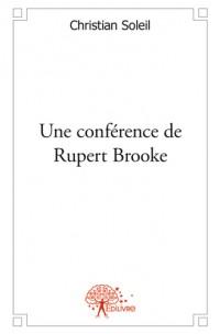 Une conférence de Rupert Brooke