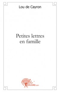 Petites lettres en famille