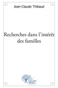 Recherches dans l'intérêt des familles