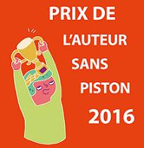 prix auteur sans piston 2016